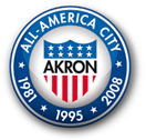 seal of Akron - All American City