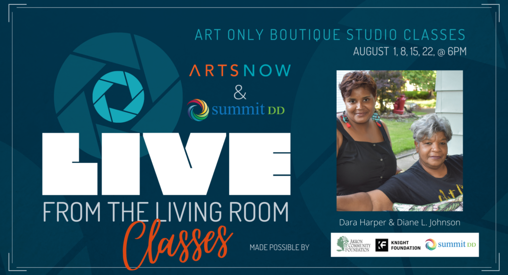 Live From the Living Room series promotional poster