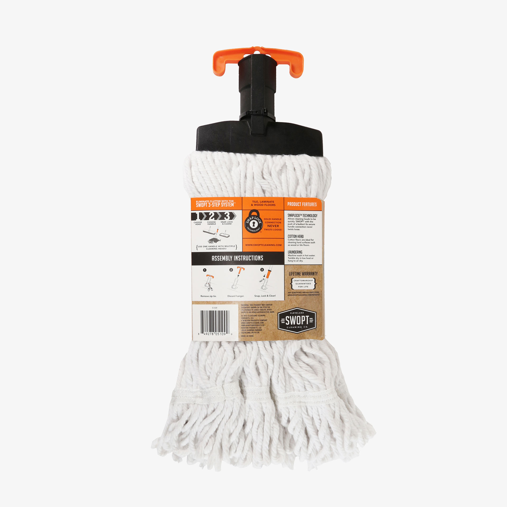 Cotton Mop Swopt Cleaning Co