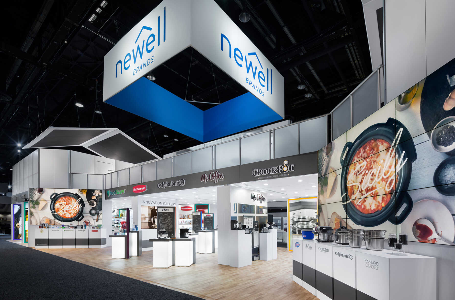 Newell Exhibit Housewares Show 2018, Chicago Rogers Co. Padgett and Company Job#4200
