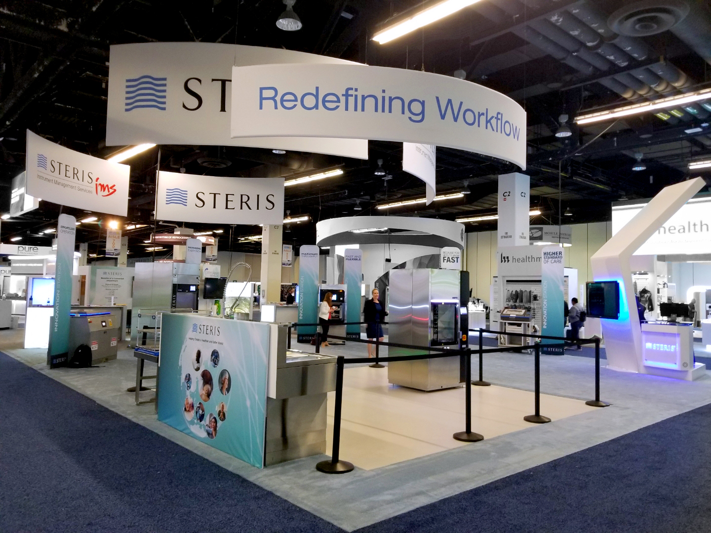 STERIS booth photo at IAHCSMM 2019
