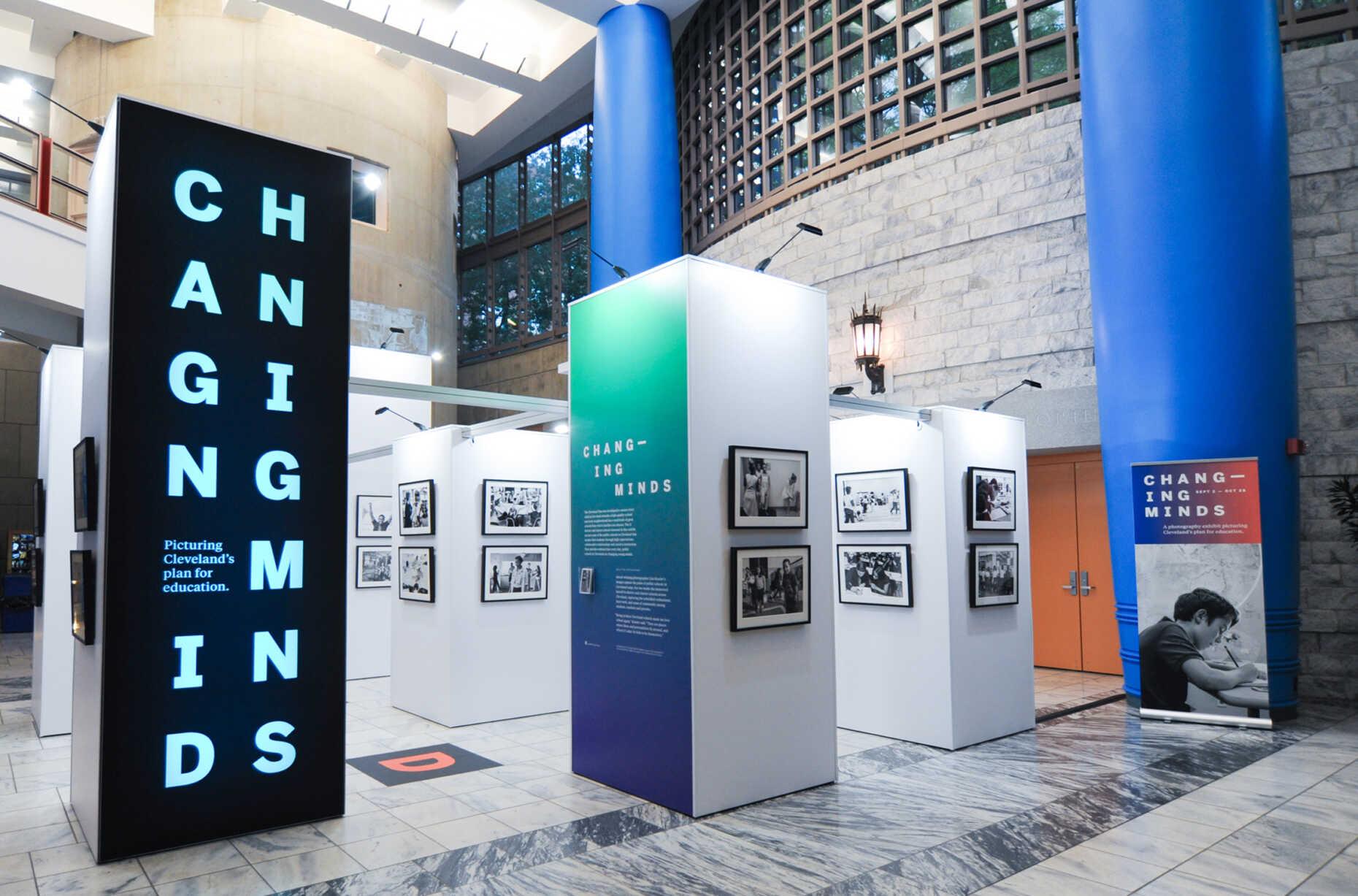 Traveling Exhibit - Cleveland Library - Cleveland Public Schools - Gund Foundation