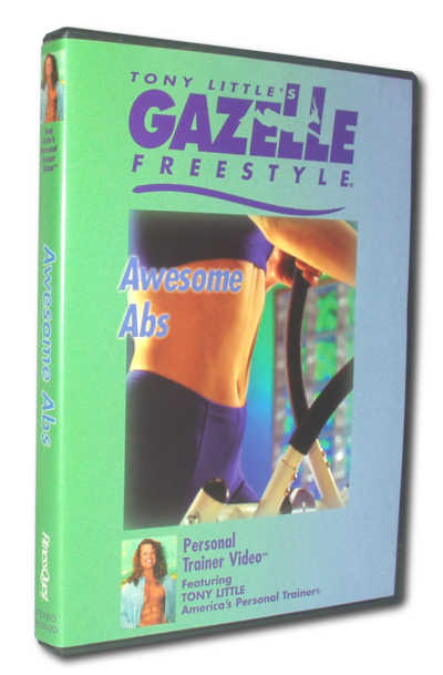 Gazelle Freestyle Awesome Abs DVD FREE SHIPPING