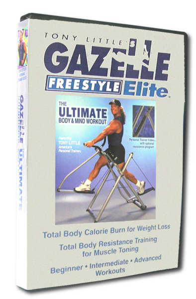 Gazelle Freestyle Elite Ultimate Mind And Body Workout DVD