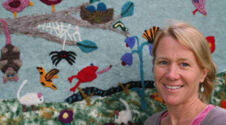 Felted Story Quilt Residency