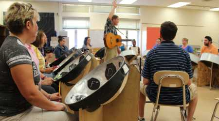 Steel Drums in the Classroom