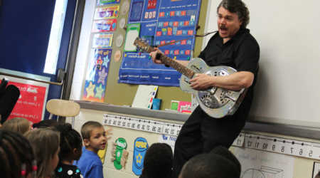 Writing Blues Songs to Boost Writing and Reading Comprehension