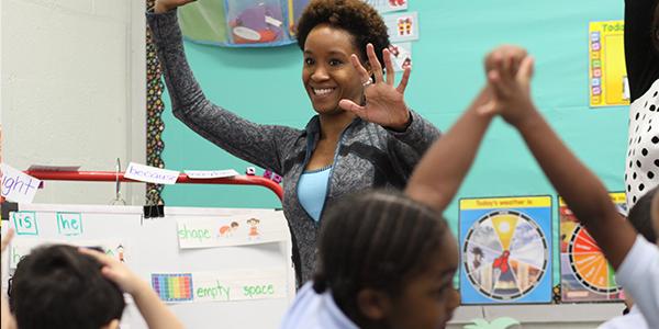 Valerie Branch at Holabird Academy 1