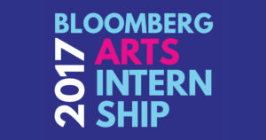 Bloomberg Arts Internship