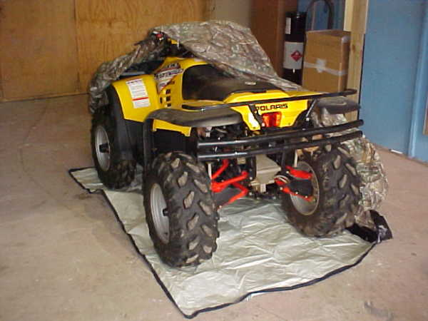 ATV Cover Rust Prevention