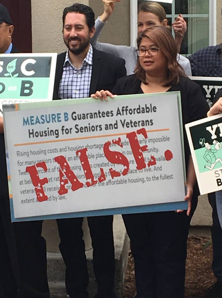 No on Measure B 2018