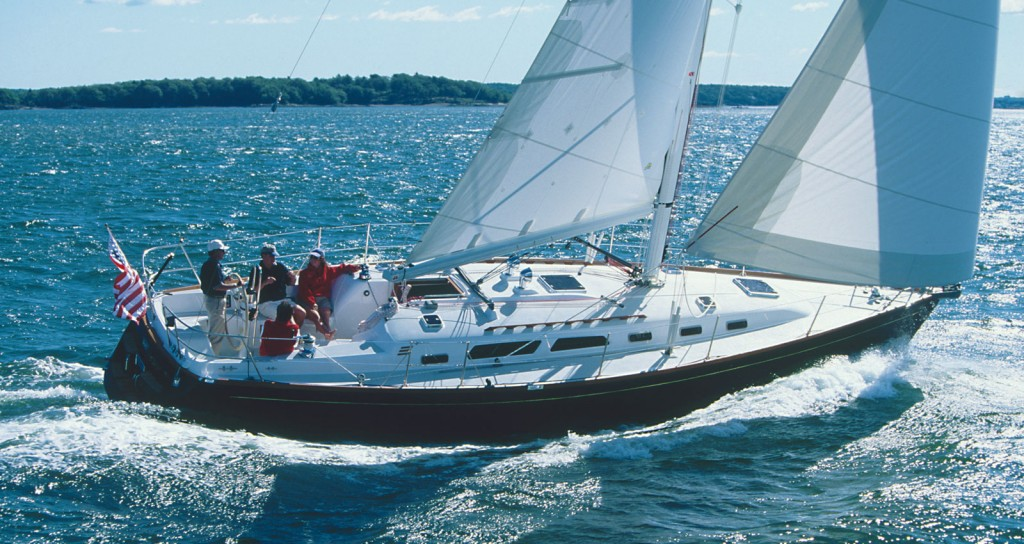 Sabre sailing yachts hand crafted in Maine USA - Sabre ...