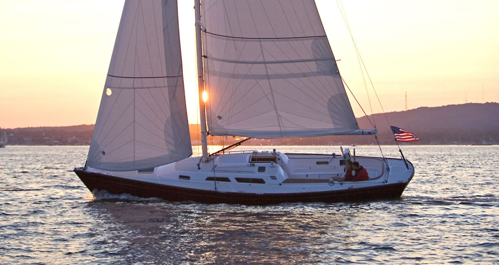 sailing yacht specifications | detailed specifications for the sabre spirit  day sailer sailing yacht built in maine - sabre yachts | sabre yachts