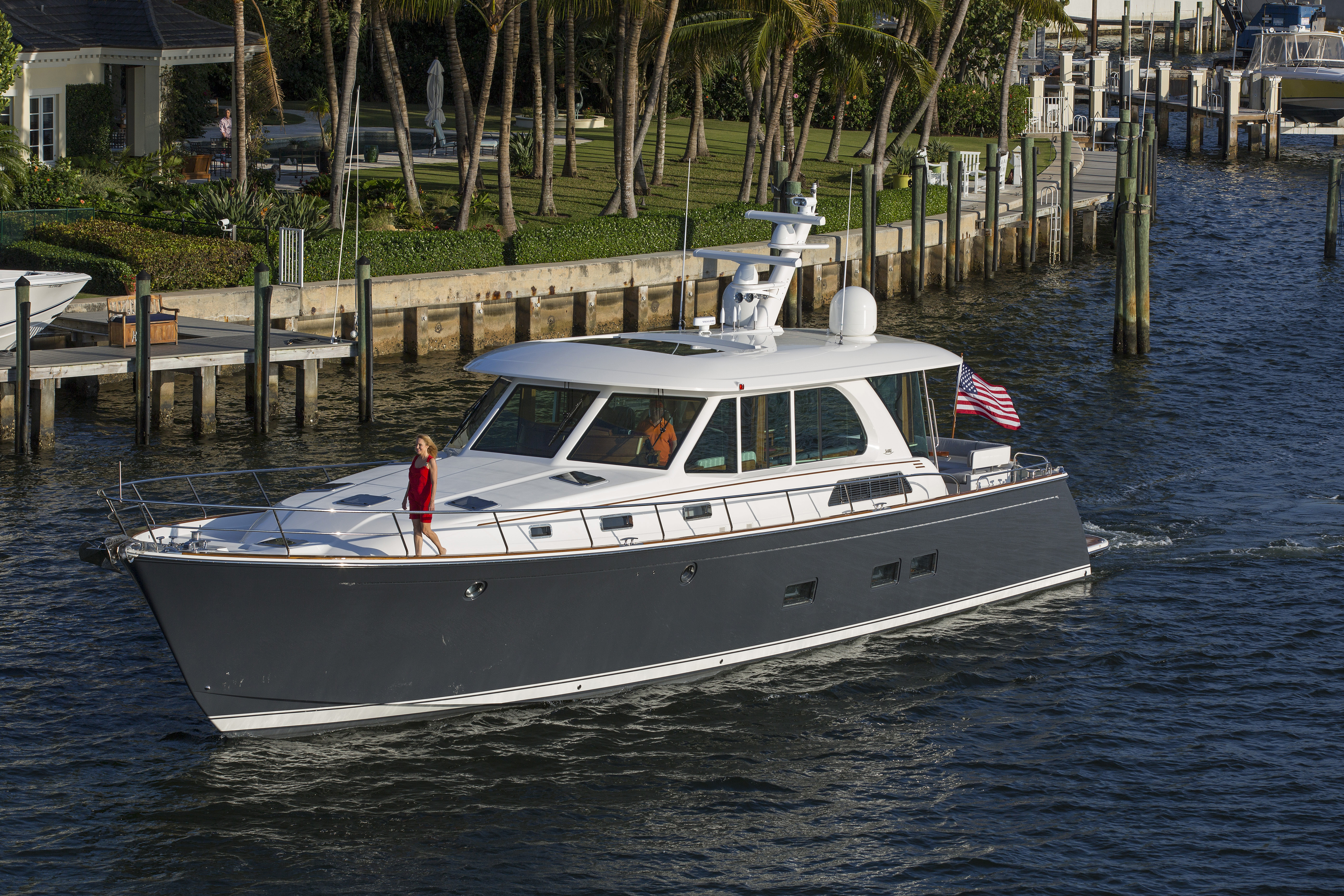 Sabre 66 Dirigo Motor Yacht Hand Crafted In Maine Sabre