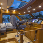 Sabre 66 Prevail at the Yachts International Boat Show in Miami FL