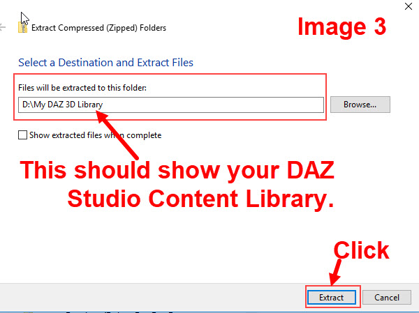 DAZ Studio Tip: How to load Daz Products From Third-Party