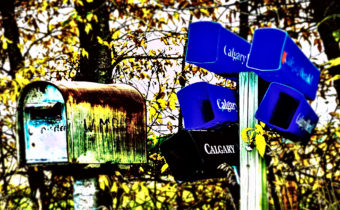 Waiting for Snail Mail – Lomo Effect by Ric M, Summit Member