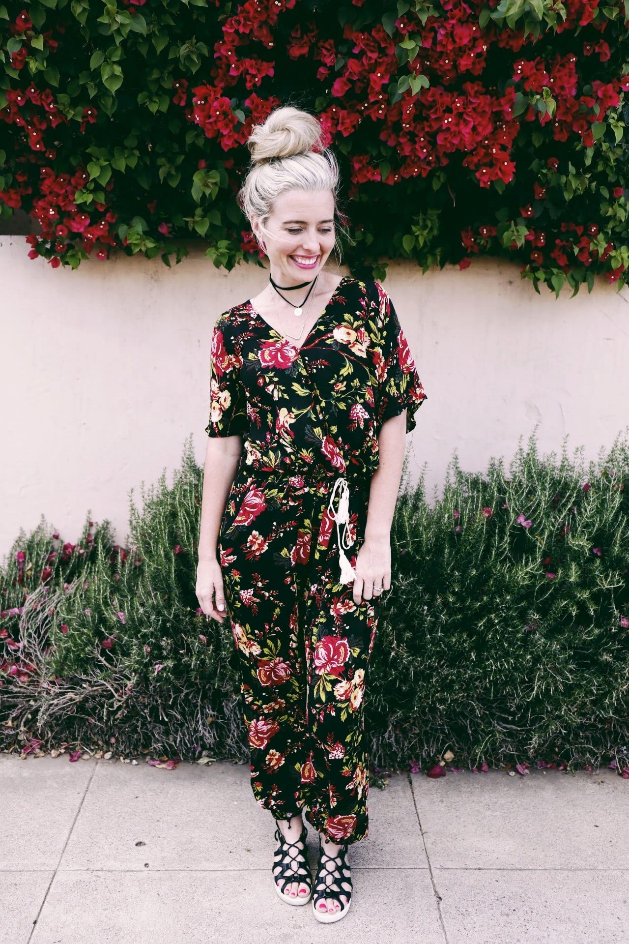 88af389ece2c Black Floral Jumpsuit – Ashley LeMieux