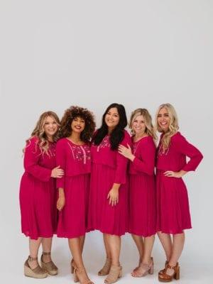 73a9192cd204 Isla Midi Dress in Grey or Pink (XS-XXL)