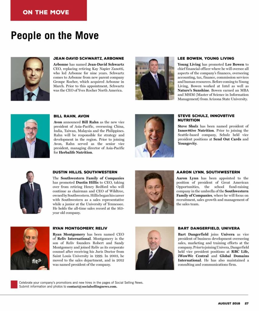 People on the Move August 2018 screenshot