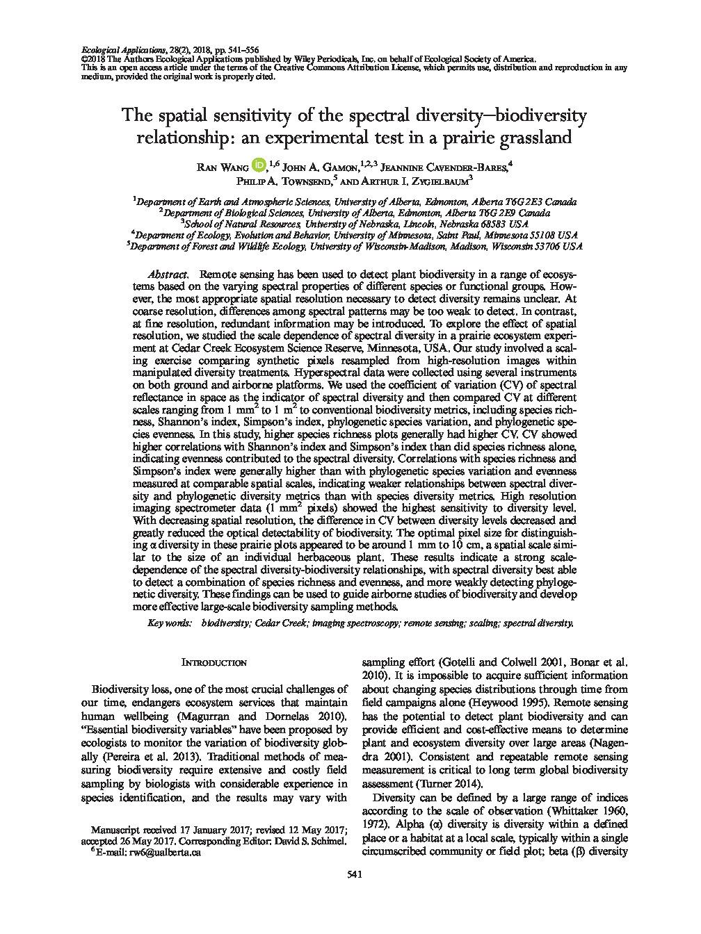 thumbnail of Spectral_diversity_biodiversity
