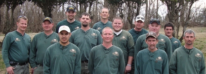 grounds maintenance staff