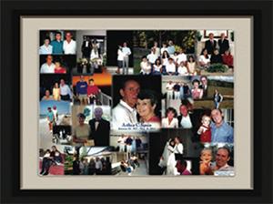 A Life Celebration Photo Collage