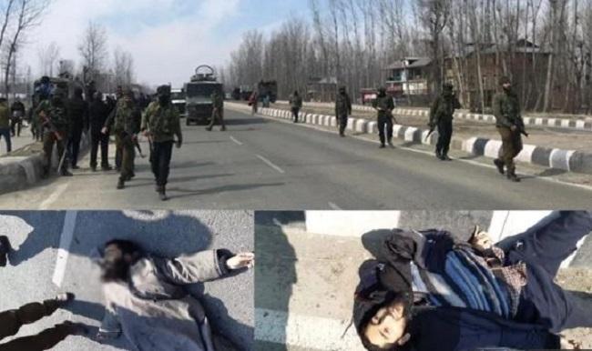 श्रीनगर में मुठभेड़, जवानों ने तीन आतंकियों को मार गिराया, CRPF का जवान शहीद