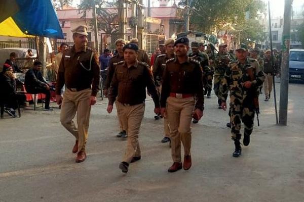 Delhi Assembly Polls 2020: सुरक्षा के कड़े इंतजाम, सोशल मीडिया पर भी कड़ी नजर