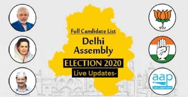 Delhi Assembly Elections Results 2020: दिल्ली में आम आदमी पार्टी की धमाकेदार जीत, BJP को भी फायदा