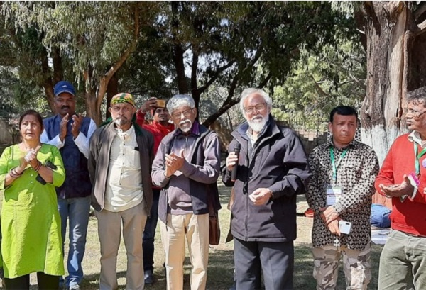 प्रथम आदिवासी और लोक चित्रकार शिविर में फिल्म के जरिए दिखाई गई झारखंड की संस्कृति