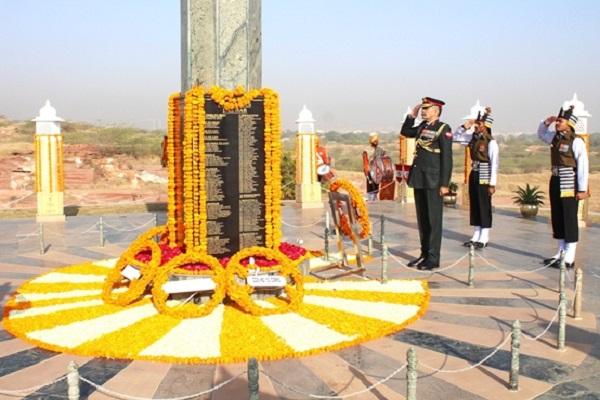 इंडियन आर्मी की कोणार्क कोर ने मनाया 33 वां स्थापना दिवस