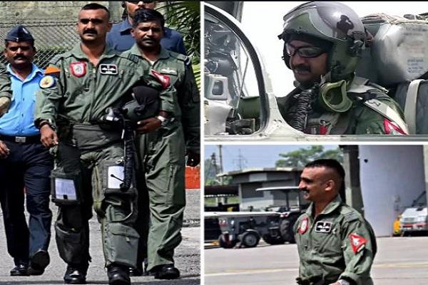 Wing Commander Abhinandan Varthman