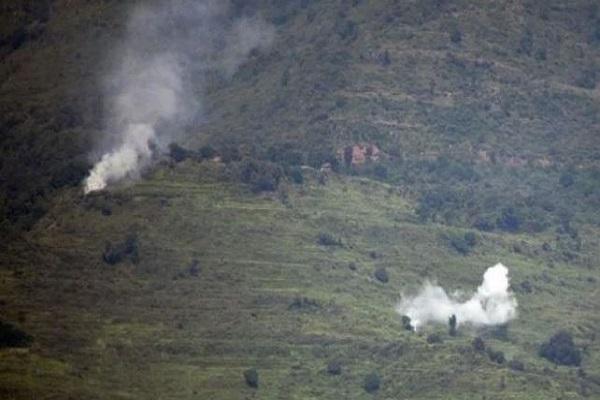 पाकिस्तान ने किया सीजफायर का उल्लंघन, केरन सेक्टर में भारी गोलीबारी