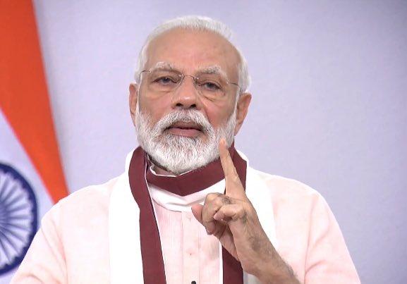 राष्ट्र के नाम पीएम का संबोधन: आत्मनिर्भर भारत के लिए 20 लाख करोड़ का पैकेज, नये रंग-रूप वाला होगा लॉकडाउन 4