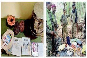 छत्तीसगढ़: बीजापुर में विस्फोटक बरामद; कांकेर में मुठभेड़, महिला नक्सली को लगी गोली