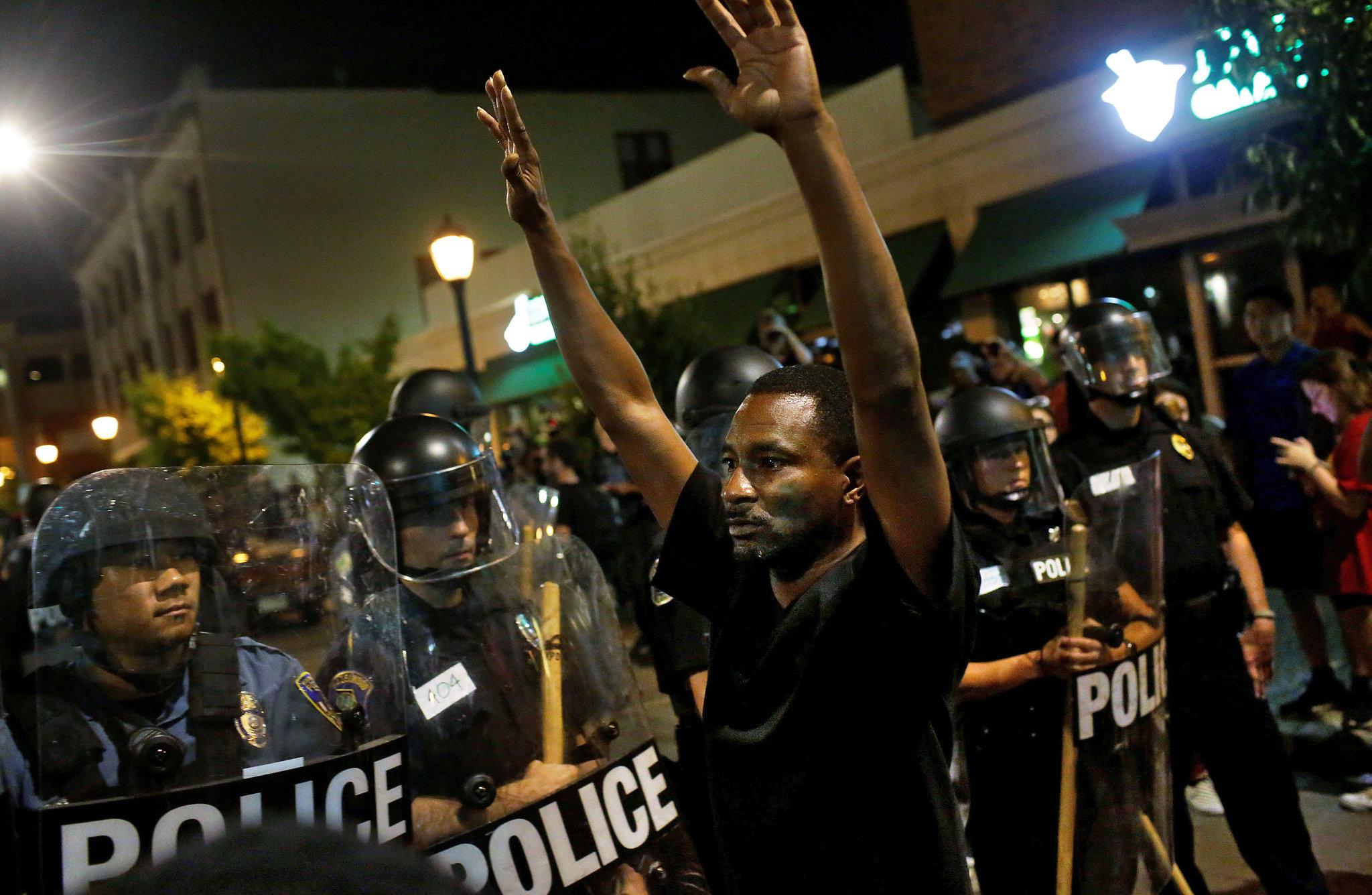 Black Lives Matter, Black Lives Matter protest
