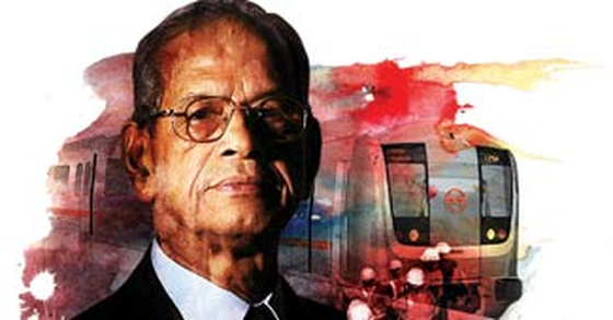 E Sreedharan metro man of india
