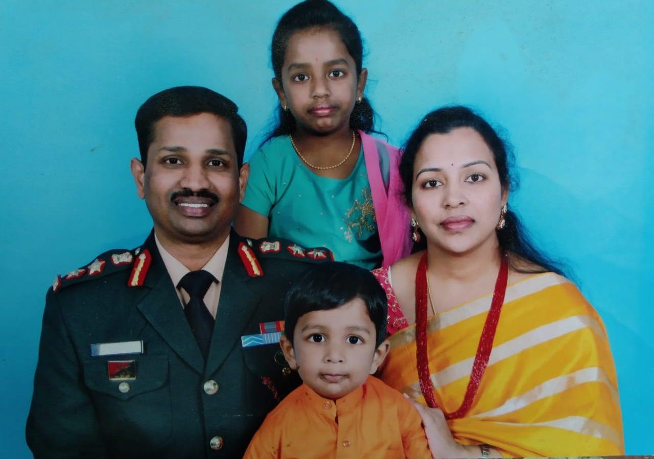 कर्नल संतोष बाबू (B Santosh Babu) के पिता ने कहा, सेना में शामिल होकर उसने मेरा सपना पूरा किया था