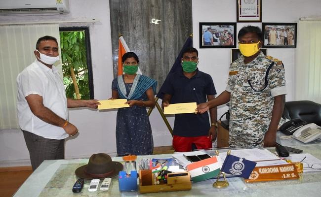 रंग ला रही हैं नक्सलविरोधी सरकारी नीतियां, बीजापुर में Naxal Couple नक्सल दंपति ने किया Surrender