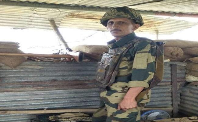 बॉर्डर पर देश की रक्षा करते हुए शहीद हुए हरियाणाके BSF जवान ओमप्रकाश