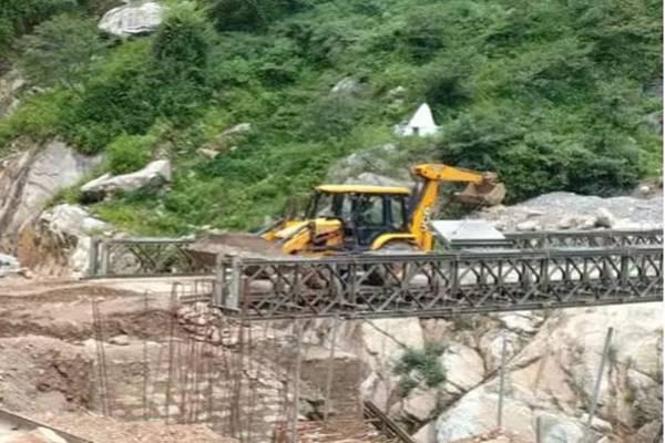 सेना का कमाल, महज 6 दिन में फिर से बना डाला चीन बॉर्डर तक जाने वाला ब्रिज