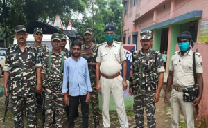 Bihar: जमुई से हार्डकोर नक्सली गिरफ्तार, लंबे समय से चल रहा था फरार