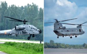 भारतीय वायुसेना की ताकत और बढ़ी, बोइंग ने सौंपे बाकी बचे अपाचे और चिनूक हेलिकॉप्टर