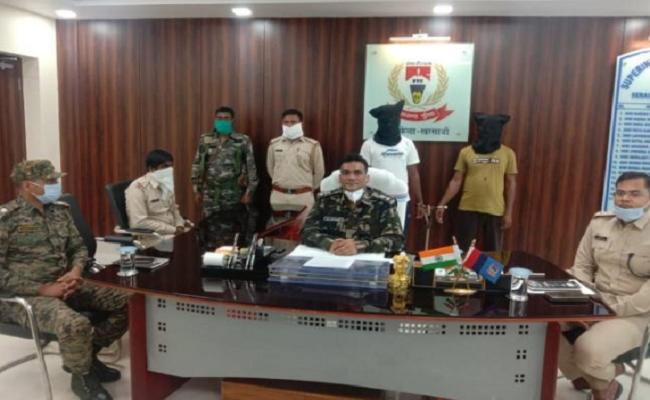 झारखंड: महाराज प्रमाणिक दस्ते के दो हार्डकोर नक्सली धराए, हत्या सहित आधा दर्जन मामलों में पुलिस कर रही थी तलाश