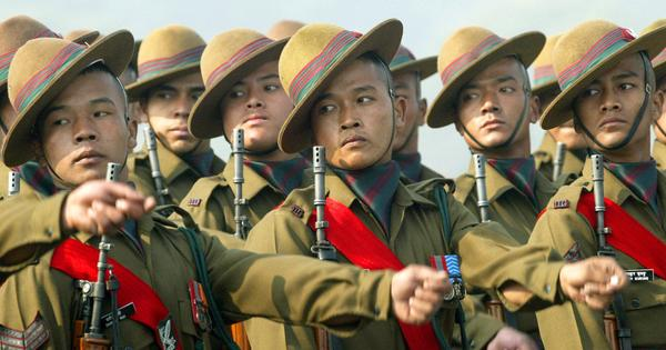 Nepali Gorkha in Indian Army
