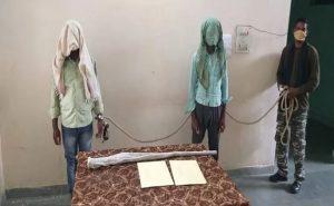 झारखंड: चाईबासा से पीएलएफआई के 2 नक्सली गिरफ्तार, लेवी के लिए दे रहे थे धमकी