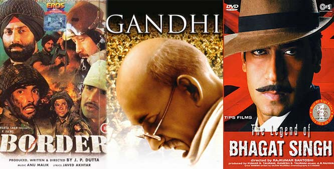 Bollywood Patriotic movies for 15 अगस्त