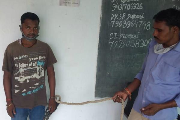 हार्डकोर नक्सली विनोद सिंह गिरफ्तार, 2012 में हुई मुठभेड़ में था शामिल