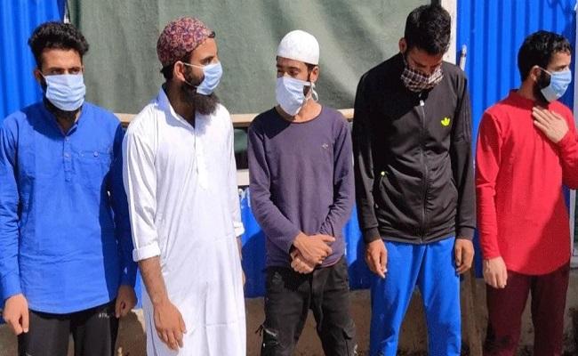 जम्मू-कश्मीर: बांदीपोरा से ISJK के 5 आतंकी गिरफ्तार, रची थी ये साजिश…